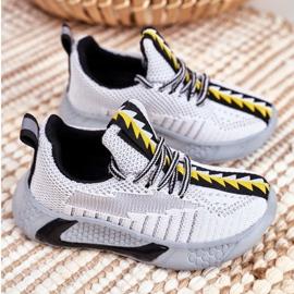 FRROCK Gray Children's Stitch Sport Shoes grey 2