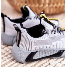 FRROCK Gray Children's Stitch Sport Shoes grey 3