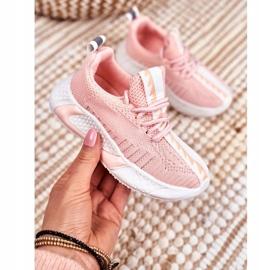 FRROCK Pink Stich Children's Sports Shoes 1
