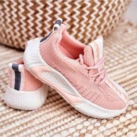 FRROCK Pink Stich Children's Sports Shoes 4