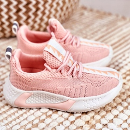 FRROCK Pink Stich Children's Sports Shoes 3