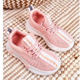 FRROCK Pink Stich Children's Sports Shoes 2