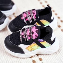 FRROCK Children's Black Velma Sport Shoes 1