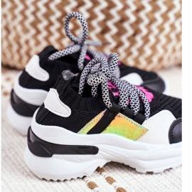 FRROCK Children's Black Velma Sport Shoes 4