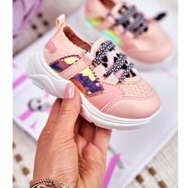 FRROCK Children's Pink Velma Sport Shoes 1