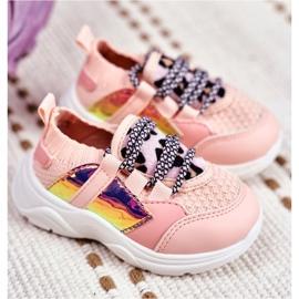 FRROCK Children's Pink Velma Sport Shoes 2