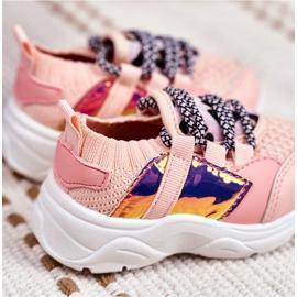 FRROCK Children's Pink Velma Sport Shoes 3