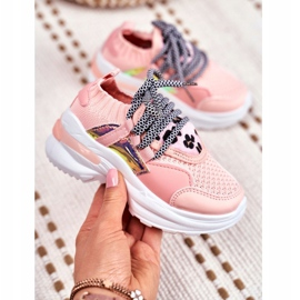 FRROCK Children's Pink Velma Sport Shoes 4
