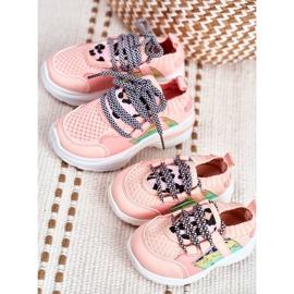 FRROCK Children's Pink Velma Sport Shoes 6