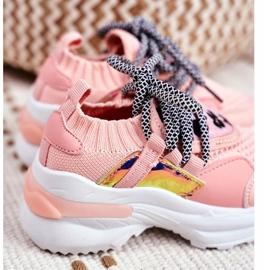 FRROCK Children's Pink Velma Sport Shoes 5