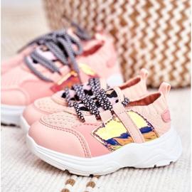 FRROCK Children's Pink Velma Sport Shoes 7