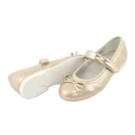 Golden Ballerinas with a bow American Club GC03 / 20 4