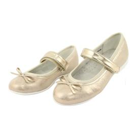 Golden Ballerinas with a bow American Club GC03 / 20 3