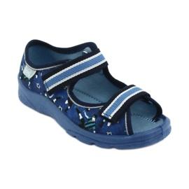 Befado children's shoes 969X141 navy blue blue 1