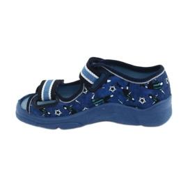 Befado children's shoes 969X141 navy blue blue 2