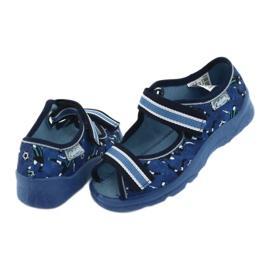Befado children's shoes 969X141 navy blue blue 4