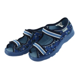 Befado children's shoes 969X141 navy blue blue 3