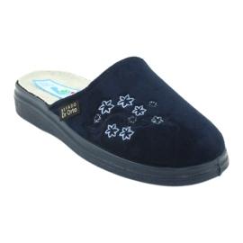 Befado women's shoes pu 132D012 navy 2