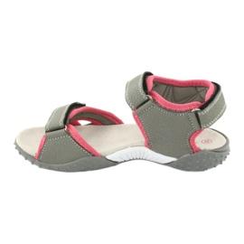 American Club RL26 / 20 gray / peach sandals 1