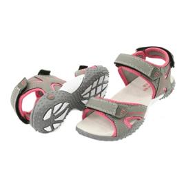 American Club RL26 / 20 gray / peach sandals 3