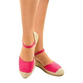Pink espadrilles 3M85-19 1