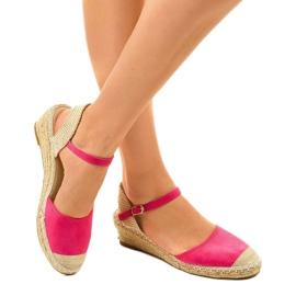 Pink espadrilles 3M85-19 2