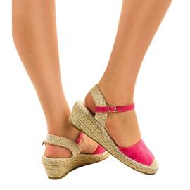 Pink espadrilles 3M85-19 3