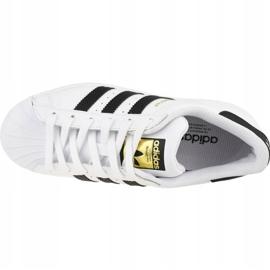 Adidas Superstar Jr FU7712 shoes white 2
