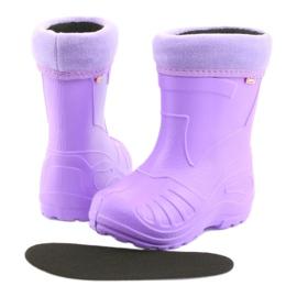 Befado children's purple rain boots 162Y102 violet 4