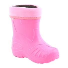 Befado children's shoes galoshes 162Y101 pink 1