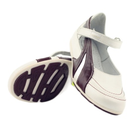 Ren But Ren-But Leather Ballerinas on sale white multicolored 4
