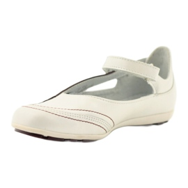 Ren But Ren-But Leather Ballerinas on sale white multicolored 2