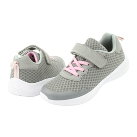 Evento Velcro sports shoes 20DZ55-2312 pink grey 3
