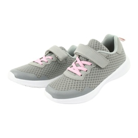 Evento Velcro sports shoes 20DZ55-2312 pink grey 2