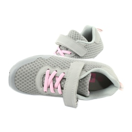 Evento Velcro sports shoes 20DZ55-2312 pink grey 4