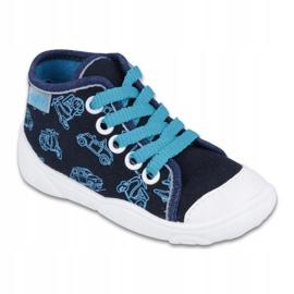 Befado children's shoes 218P059 navy blue 1