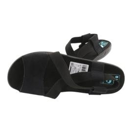Black women's sandals Adanex 17498 4