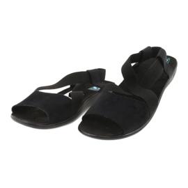 Black women's sandals Adanex 17498 2