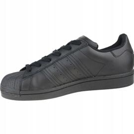 Adidas Superstar Jr FU7713 shoes black grey 1
