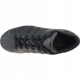 Adidas Superstar Jr FU7713 shoes black grey 2