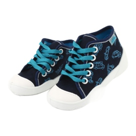 Befado children's shoes 218P059 navy blue 3