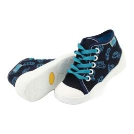 Befado children's shoes 218P059 navy blue 4