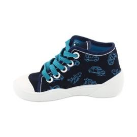 Befado children's shoes 218P059 navy blue 2