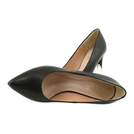 Black Pumps On High Heels Espinto C549 / 2 4