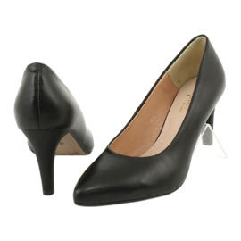 Black Pumps On High Heels Espinto C549 / 2 3