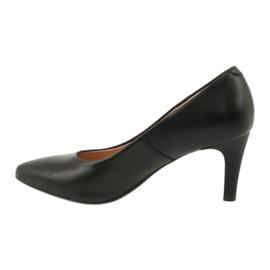 Black Pumps On High Heels Espinto C549 / 2 1