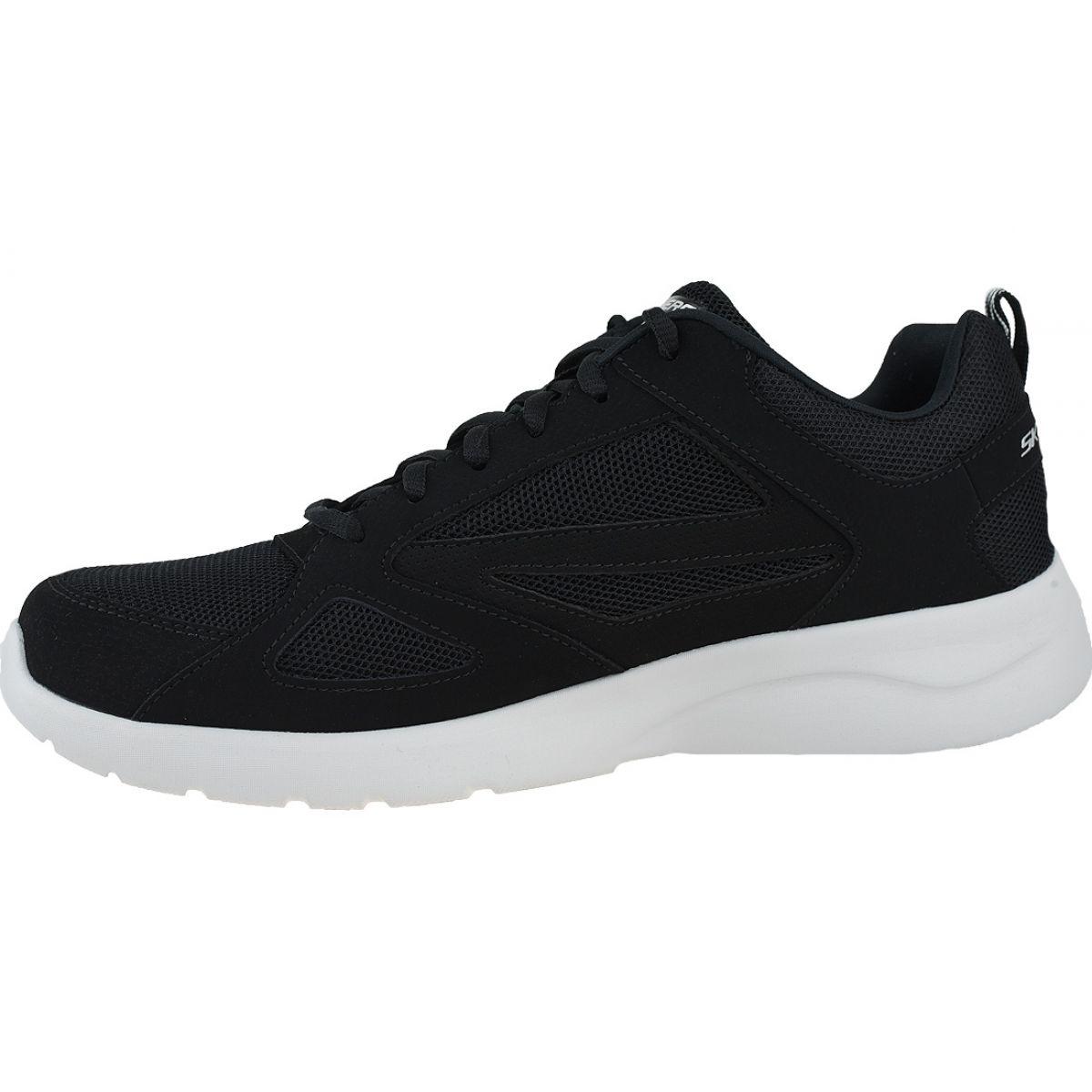M SKECHERS 58363//BBK DYNAMIGHT 2.0 FALLFORD Mn´s Black Mesh Athletic Shoes