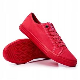Men's Sneakers Big Star Red FF174336 6