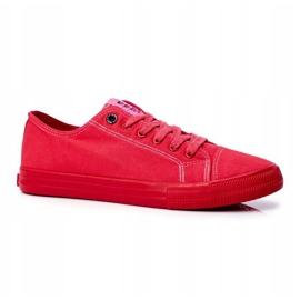 Men's Sneakers Big Star Red FF174336 1