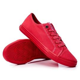 Men's Sneakers Big Star Red FF174336 3